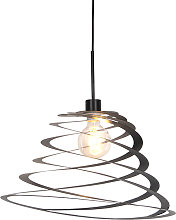 Lampe à suspension design avec abat-jour en