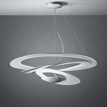 Lampe à suspension design blanche 97 cm - Pirce