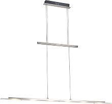 Lampe à suspension design en acier avec LED -