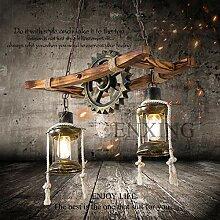 Lampe À Suspension En Bois Lampe À Suspension
