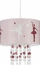 Lampe à suspension fille danseuses étoiles