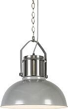 Lampe à suspension industrielle gris - Industriel