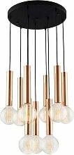 Lampe a Suspension Tubo Chandelier - de Plafond -