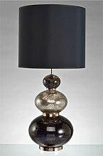 Lampe Adèle pied en verre 1 lampe