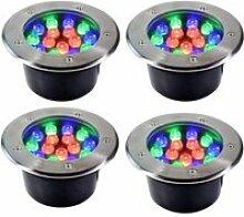 Lampe AMDHZ Couleur Spot Encastrable LED Exterieur