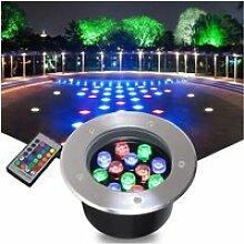 Lampe AMDHZ Couleur Spot LED Encastrable Exterieur