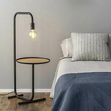Lampe avec table intégrée