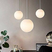 Lampe boule en verre Lustre Suspension intérieure