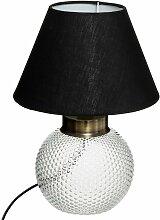 Lampe boule Kat noir H29 - Noir