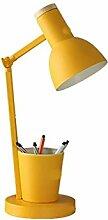 Lampe Bureau LED Support Stylo Pour Les Yeux
