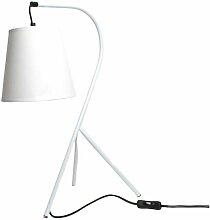 Lampe chevet design trépied blanc - CAMPANA -