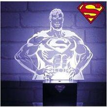 Lampe d'ambiance buste du super-héros