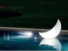 Lampe d'ambiance led croissant de lune - intex
