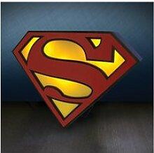 Lampe d'ambiance logo superman - dc comics