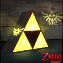 Lampe d'ambiance triforce - the legend of
