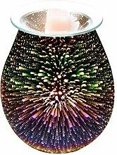Lampe D'aromathérapie 3D, Brule Parfum