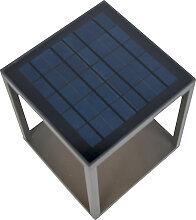Lampe d'extérieur avec solaire, détecteur de