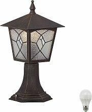 Lampe d'extérieur lanterne sur pied