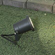 Lampe d'extérieur moderne en anthracite GU10
