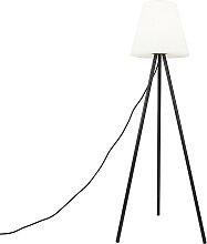 Lampe d'extérieur moderne noire avec