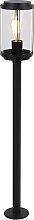 Lampe d'extérieur sur pied design noir 100 cm