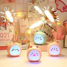 Lampe de bureau à LED, design de dessin animé,