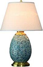 Lampe de bureau en cuivre américain - Lampe de