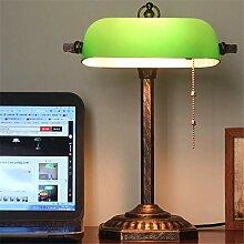 Lampe de bureau étude rétro classique lampe de