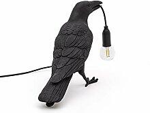 Lampe de Bureau Lampe Oiseau Led Table Lumineuse