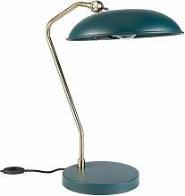Lampe de bureau Liam bleu canard