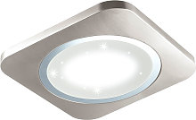 Lampe de chantier LED effet cristal plafonnier