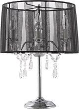 Lampe de chevet 'KLASSIK' noire chandelier