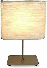 Lampe de chevet ARTHUR Argent - Gris
