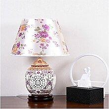 Lampe de chevet Asiatique Traditionnelle Table