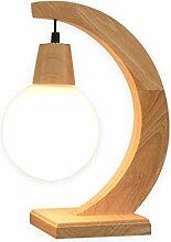 Lampe de chevet Bois Corne forme Lampe de table