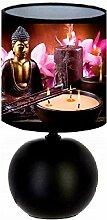Lampe de chevet Bouddha Zen création artisanal