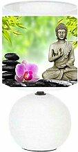 Lampe de chevet Bouddha ZEN création artisanale