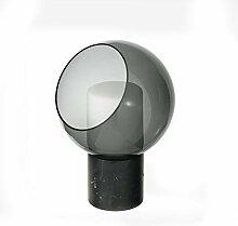 Lampe de chevet Boule en verre Lampe de table -