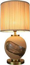 Lampe de Chevet Chinois Antique Céramique Table