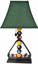 Lampe de chevet Creative Billard Bedroom Table