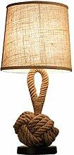 Lampe de chevet Creative Twine Chambre À Coucher