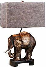 Lampe de chevet Duolun Asie du Sud-Eléphant Lampe
