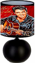 Lampe de chevet Elvis Presley - création