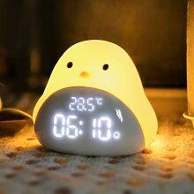Lampe de chevet en forme d'oiseau du temps,
