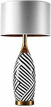 Lampe de chevet Grande Lampe de table gris TC