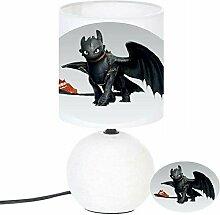 Lampe de chevet KROKMOU DRAGON - création
