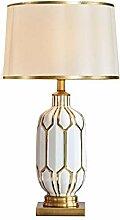 Lampe de chevet Lampe de bureau en céramique