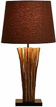 Lampe de chevet Lampe de table Branches en bois