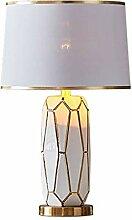 Lampe de chevet Lampe de table en céramique Lampe
