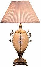 Lampe de chevet Lampe de table en cristal de luxe